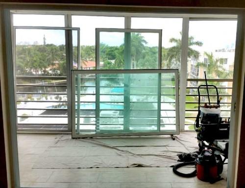 Repairing sliding glass patio doors